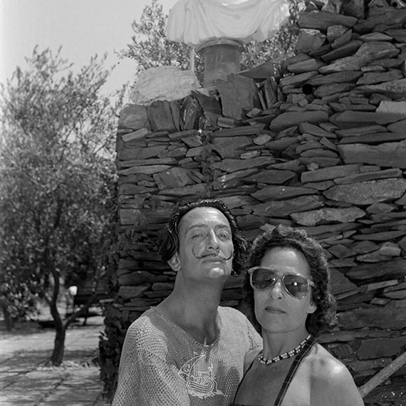 Salvador Dalí, Gala, Ricardo Sans, chateau Gala Dali à Pubol